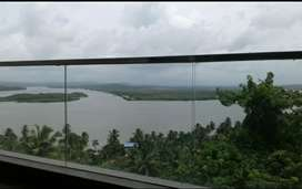 3BHK with full River view located on kadamba plateau unfurnished