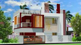 1.30 core 4 Bhk bangalow house sale in Vadavalli