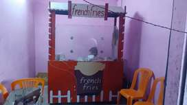 French fries And Burger counter Available