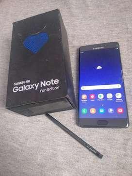 Samsung galaxy note fe 4/64gb garansi sein