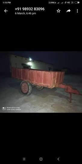 Trolly for tractor