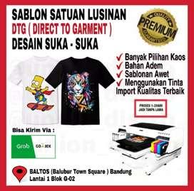 Sablon DTG Custom Satuan Full Collor Murah dan Berkualitas Baltos