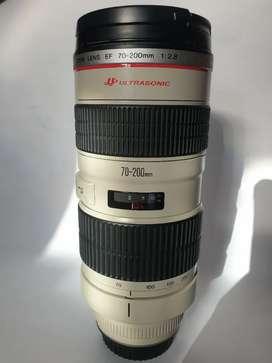 Lensa Canon 70-200 F2,8.