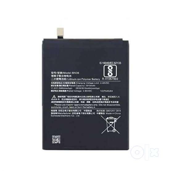 Mi A2 Battery Original 0