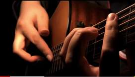 Home tuition guitar class.500...1000 monthly