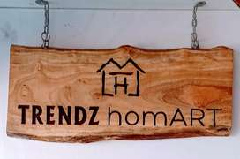 Wooden Name Boards