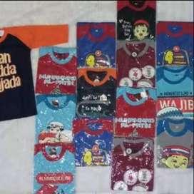 Kaos Anak & balita gambar anak Sholeh