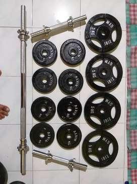 Barbel dumbell Alat Fitnes.  FREE ONGKIR