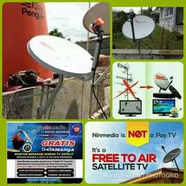 Antena Parabola Tv Satelit Gratisan Siaran Jernih selalu