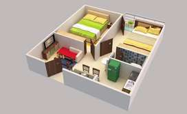 2 room kitchen and washroom for rent