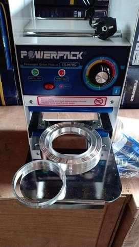 Cup sealer 22 oz garansi 1 thn powerpack