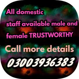Experienced House Maid mother helper cook driver