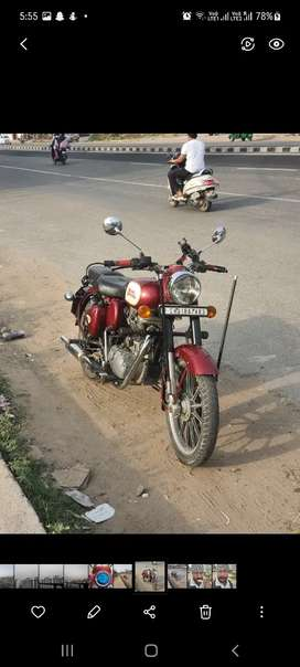 2015 model well maintained genuine bullet