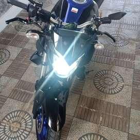 Yamaha mt250 warna biru