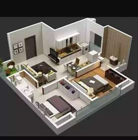 2bhk ready to move