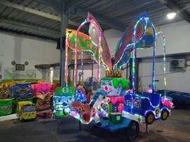 komedi safari mainan koin kereta mall odong
