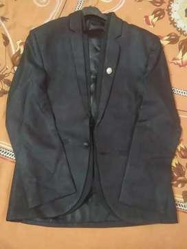 Black jack black coloured blazer