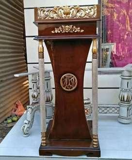 mimbar masjid podium