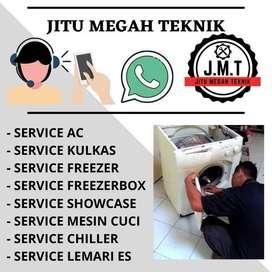Service AC Showcase Kulkas Freezerbox Servis Mesin Cuci Panggilan