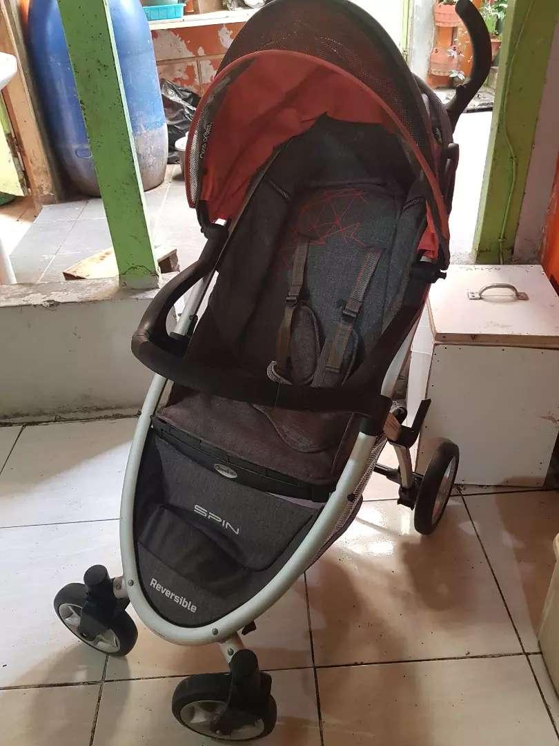 Preloved Stroller Cocolatte Spin Reversible 0