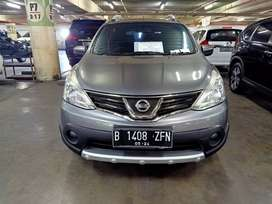 Nissan Livina X-gear 1.5 matic 2013 Abu abu Nopol Genap