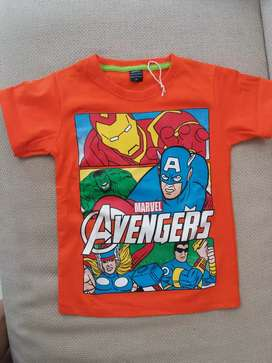 Kaos Marvel Avengers anak