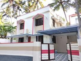 8 Cent 3bhk 1500sqft rennovated House near Sreekariyam Powdikonam