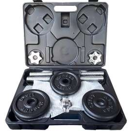Dumbell Set Box Hitam 15 kg Import