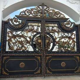 pintu pagar modern kekinian