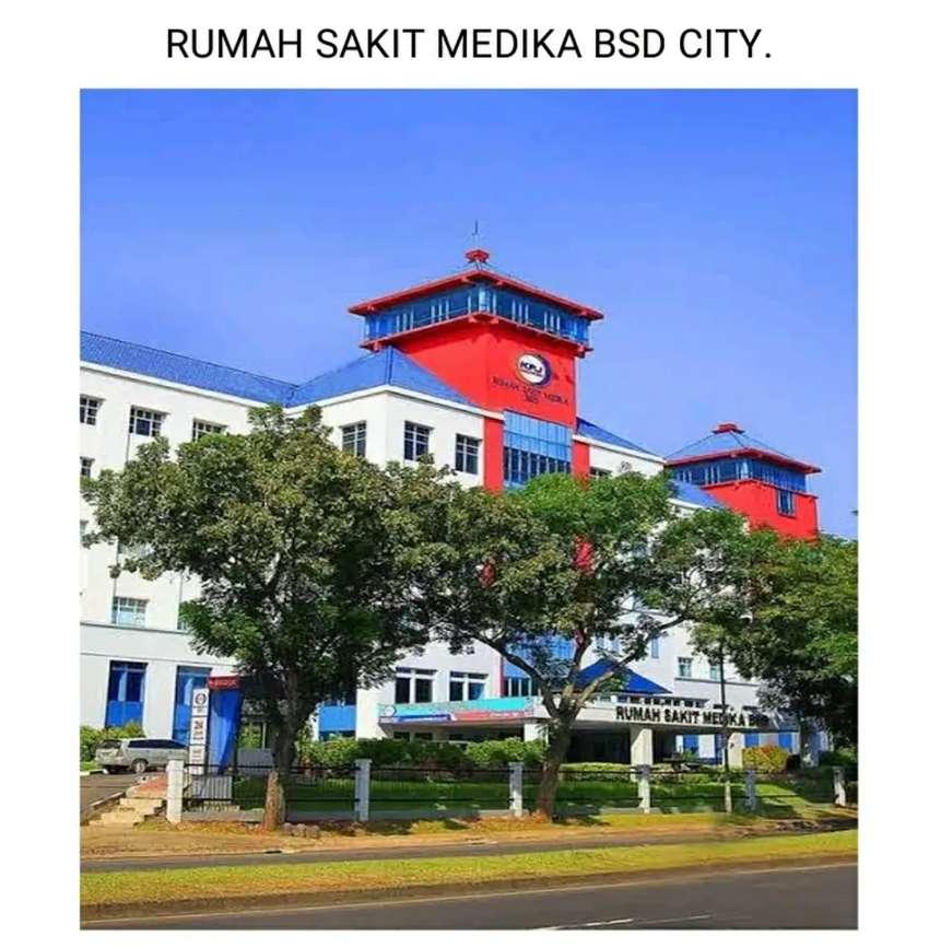 Rumah Sakit (RS) BSD Serpong Tangerang by. Prima Property