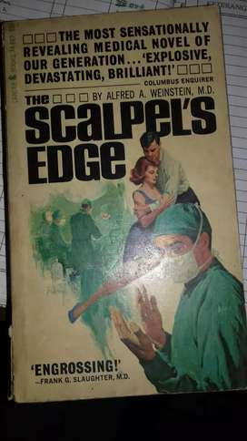 Novel lawas impor cetakan 1967 scalpels edge