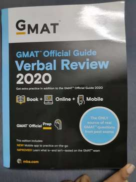 GMAT Official Guide Verbal Review 2020