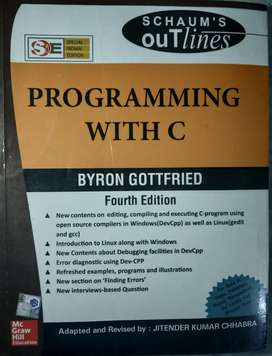 Programming with C by Gottfried