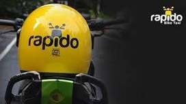 """Delivery executive in Rapido"""""""