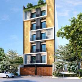 3bhk luxurious flat, satya sai marg, near kalawad road