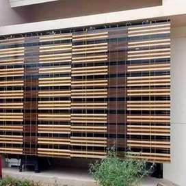 Krey kayu motif hiasan rumah