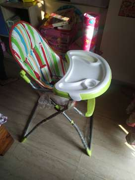 Baby high Chair with tray
