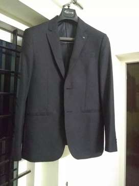 Blazer full sleev Black Van heusen