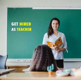 Part time Teacher required at Charholi phata