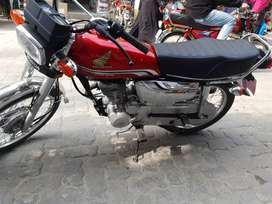 Honda 125 self special edition