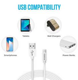 Brand new Ambrane cables micro USB & type C