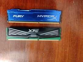 Ram DDR3 8GB Combo