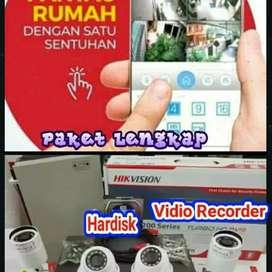 PAKET LENGKAP CCTV FULL HD BAYAR SELESAI PEMASANGAN
