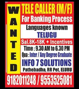 Urgent Openings - Telecallers - Voice Process