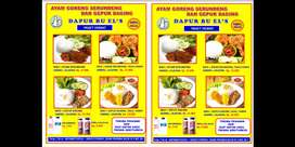 Ayam Serundeng & Gepuk Daging