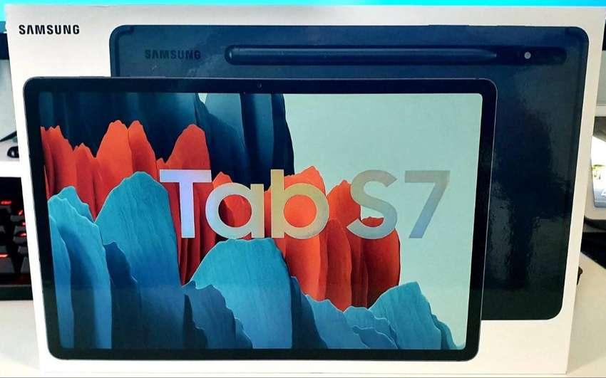 Samsung Galaxy Tab S7 Black 128GB SEIN Bisa COD dan Kredit DP Murah 0