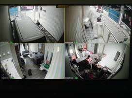 Untuk sarana tambahan keamanan aset anda.Paket CCTV 2Mp/5Mp