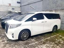 Toyota Alphard Putih Low Od ex Direksi