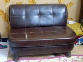 Leather 7 sweater sofas