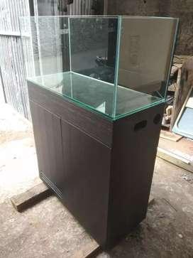 Aquarium meja kabinet